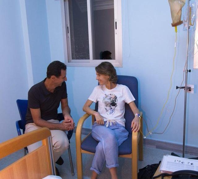 Đệ nhất phu nhân Syria bắt đầu điều trị ung thư. (Ảnh: Twitter)