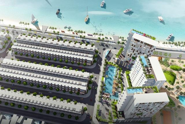 Phối cảnh Khu đô thị - Thương mại nghỉ dưỡng Vietpearl City Phan Thiết