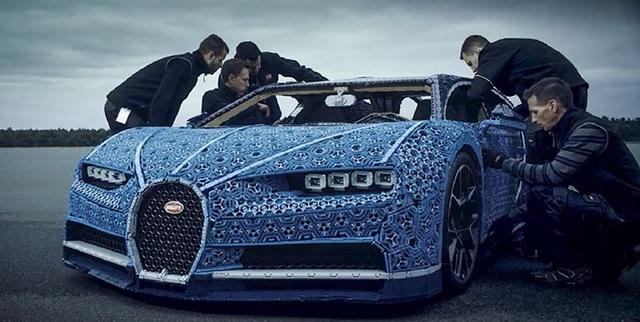 Mất 13.400 giờ để các kỹ sư của LEGO hoàn tất lắp ráp chiếc siêu xe đặc biệt này