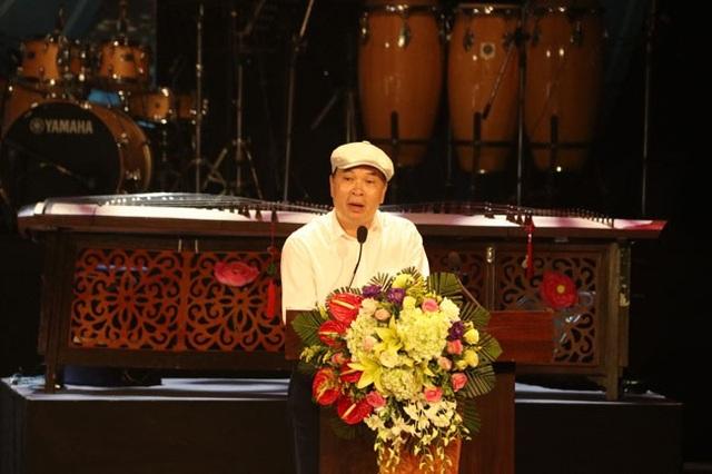 Nhạc sĩ Tào Tuấn Phương – Chủ tịch Hội đồng giám khảo Tổng kết Liên hoan.