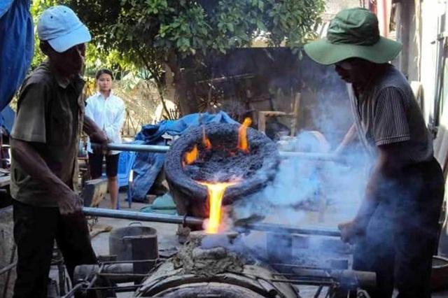 Nghề đúc đồng cổ truyền làng Chè (Trà Đông), xã Thiệu Trung, huyện Thiệu Hóa, tỉnh Thanh Hóa được đưa vào danh mục Di sản văn hóa phi vật thể quốc gia
