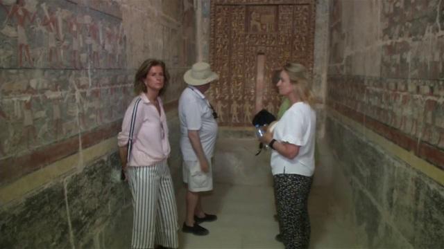 Lăng mộ cổ hơn 4000 năm tuổi lần đầu được mở cửa đón khách - 5