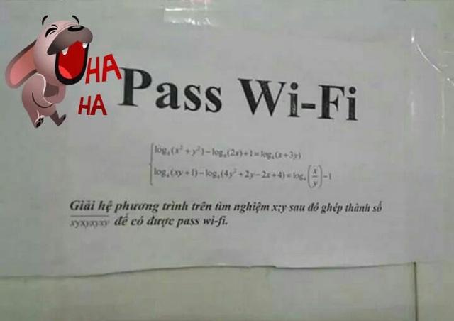Mỗi lần muốn dò mật khẩu Wi-Fi là lại được ôn bài cũ.