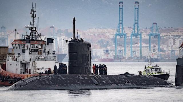 Tàu ngầm HMS Talent của Hải quân Anh (Ảnh: Sputnik)