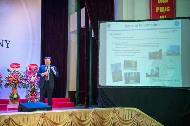 Trường ĐH Việt Nhật đưa bài giảng vào Lễ khai trường - 3