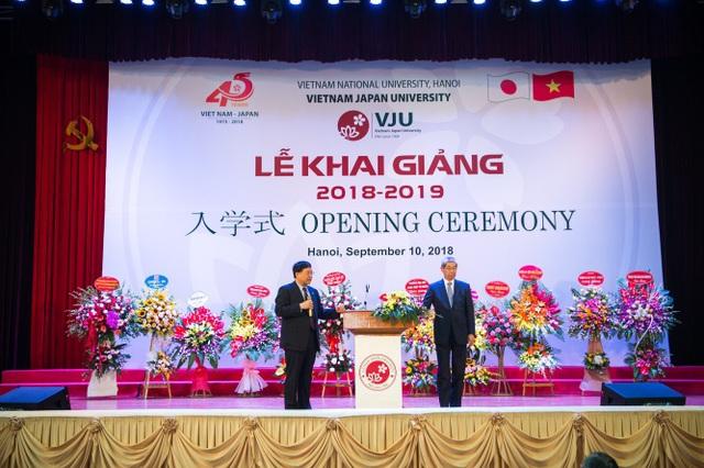 Trường ĐH Việt Nhật đưa bài giảng vào Lễ khai trường - 4