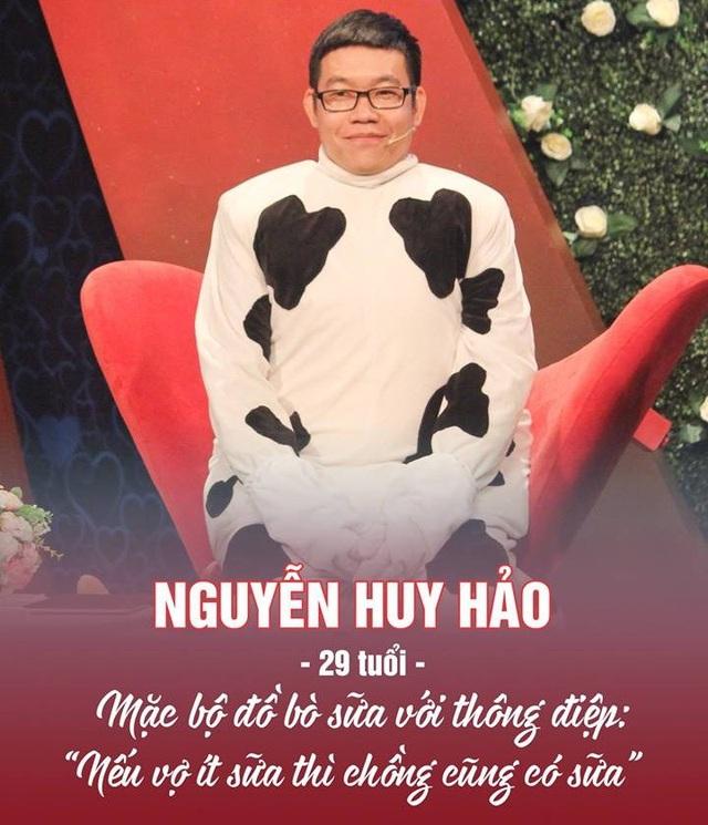 Chàng trai hoá trang thành bò sữa đến tìm vợ ở chương trình hẹn hò - 3