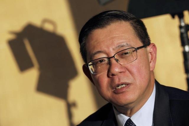 Bộ trưởng Tài chính Malaysia Lim Guan Eng (Ảnh: Bloomberg)