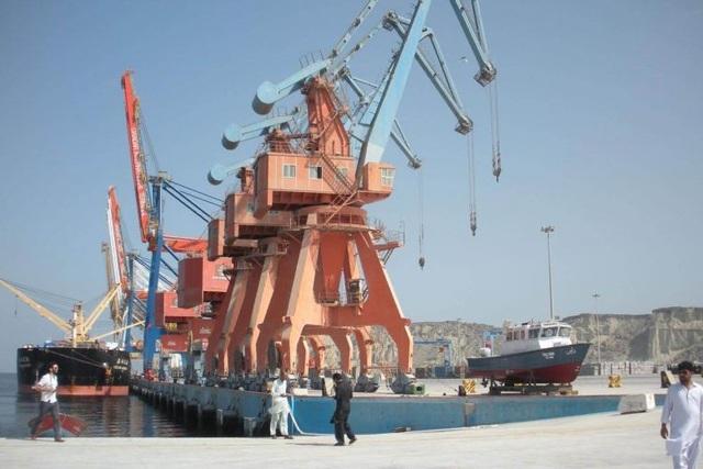 Cảng Gwadar (Ảnh: AFP)