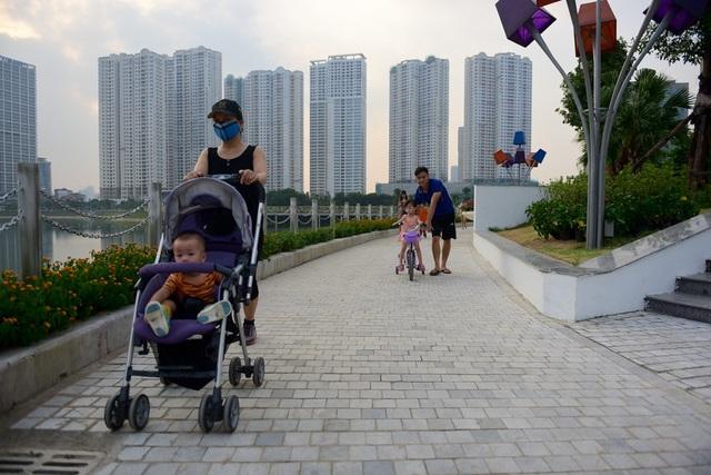 Toàn cảnh lá phổi xanh 130.000 m2 mới hoạt động ở Hà Nội - 6