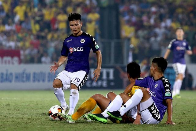 CLB Hà Nội quá mạnh so với phần còn lại của V-League (ảnh: Gia Hưng)