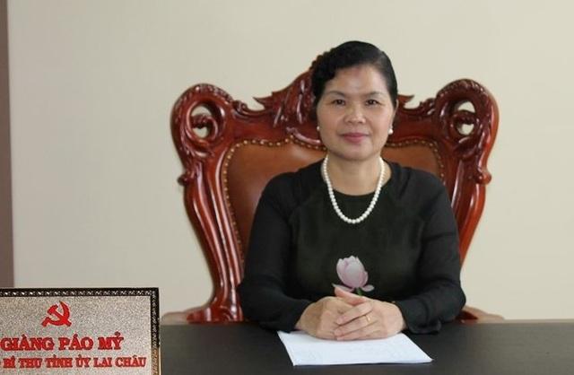 Bà Giàng Páo Mỷ, tân Bí thư Tỉnh ủy tỉnh Lai Châu nhiệm kỳ 2015-2020 (Ảnh: An ninh Thủ đô)