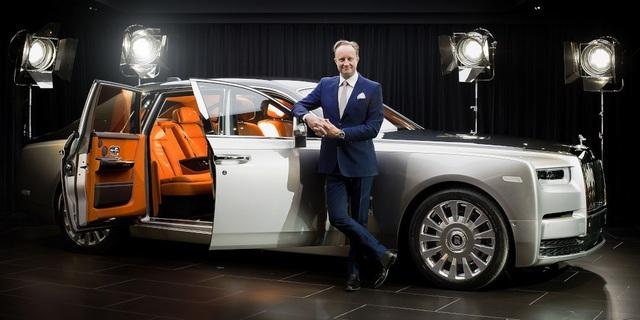 Ông Giles Taylor giữ cương vị giám đốc thiết kế của Rolls-Royce từ năm 2012 đến tháng 6/2018