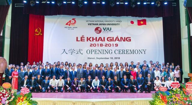 Trường ĐH Việt Nhật đưa bài giảng vào Lễ khai trường - 2