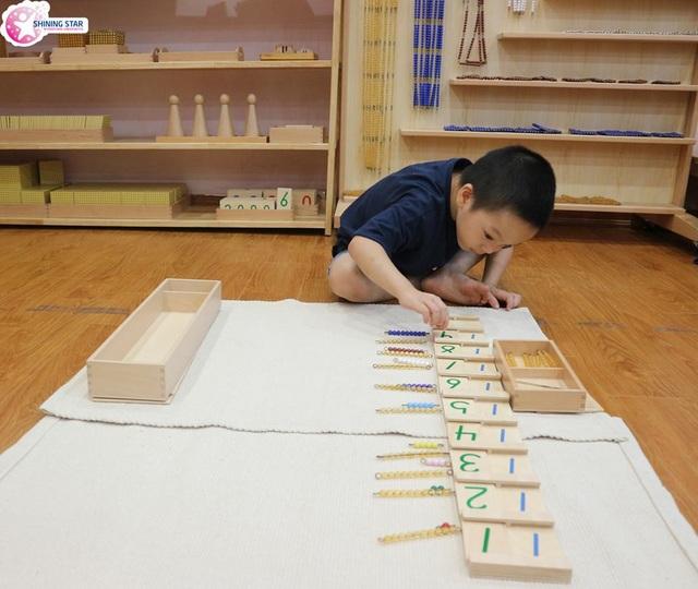Montessori xây dựng nền tảng cơ bản cho trẻ từ 0 - 6 tuổi, giai đoạn trẻ có sự phát triển nhanh về não bộ, khả năng tiếp thu và học hỏi kiến thức mạnh nhất.