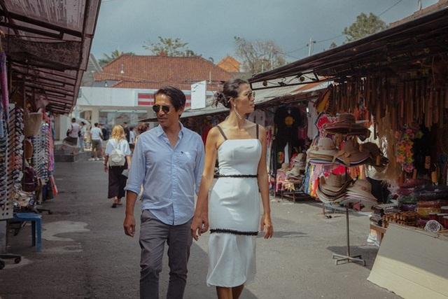 Siêu mẫu Trang Lạ gợi cảm cùng chồng đại gia khám phá thiên đường Bali - 2