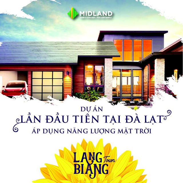 Langbiang Town áp dụng năng lượng mặt trời vào sử dụng