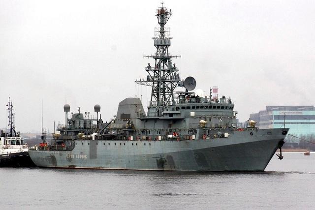 Tàu trinh sát Yury Ivanov (Ảnh: Global Security)