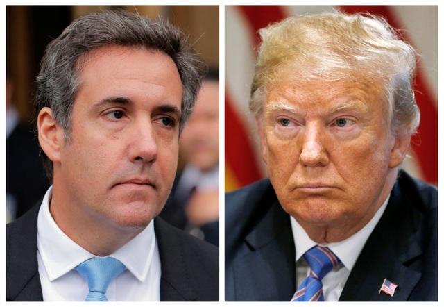 Cựu luật sư Michael Cohen và Tổng thống Mỹ Donald Trump (Ảnh: Getty)
