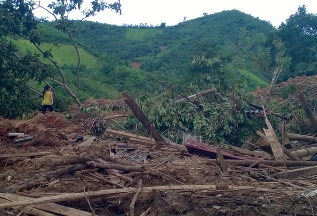 Mường Chanh chịu thiệt hại nặng nề trong đợt mưa lũ vừa qua