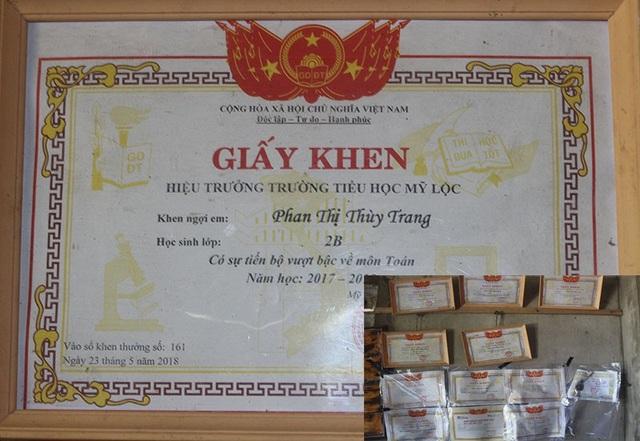 Hoàn cảnh quá éo le nhưng chị em Thùy Linh lại có thành tích học tập vượt bậc.