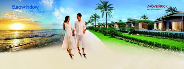 Mövenpick Resort Cam Ranh sở hữu không gian sống chất lượng với phong cách xây dựng tối giản nhưng tinh tế, sang trọng