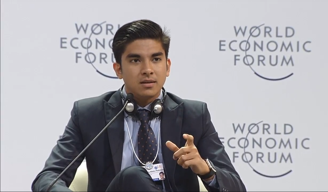 Bộ trưởng Thanh niên và Thể thao Malaysia Syed Saddiq Abdul Rahman (Ảnh: WEF)