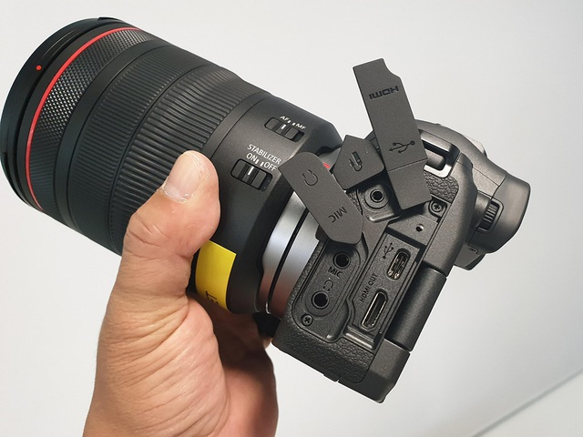 Trên tay máy ảnh mirroless full-frame đầu tiên của Canon tại Việt Nam - 8