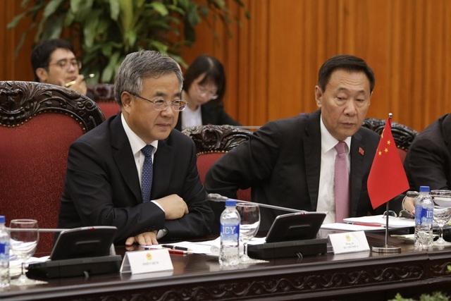 Phó Thủ tướng Trung Quốc Hồ Xuân Hoa cho biết, Trung Quốc coi trọng và sẵn sàng cùng Việt Nam thúc đẩy quan hệ láng giềng hữu nghị và hợp tác toàn diện Trung - Việt (ảnh: Hữu Nghị)