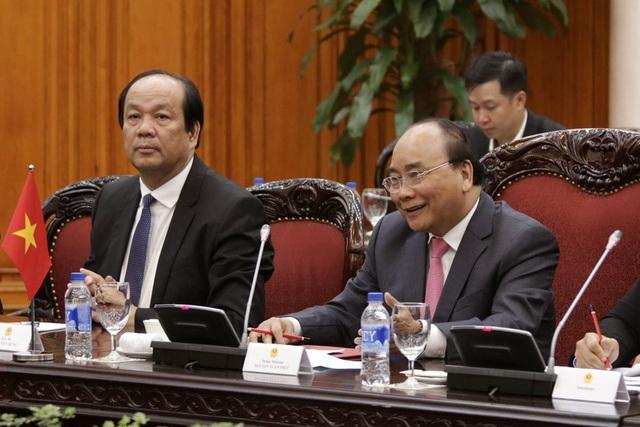 Thủ tướng Nguyễn Xuân Phúc cho rằng, việc Phó Thủ tướng Quốc vụ viện Hồ Xuân Hoa dẫn đầu đoàn đại biểu Trung Quốc sang tham dự Hội nghị WEF ASEAN 2018 thể hiện sự coi trọng và ủng hộ của Trung Quốc với việc Việt Nam đăng cai tổ chức Hội nghị lần này (ảnh: Hữu Nghị)