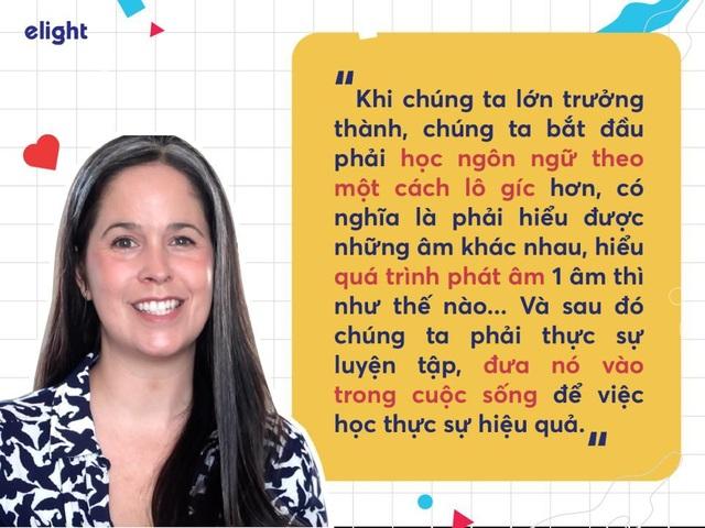 """Học tiếng Anh: Cách phát âm chuẩn như người bản ngữ của """"cô giáo youtube"""" Rachel - 4"""