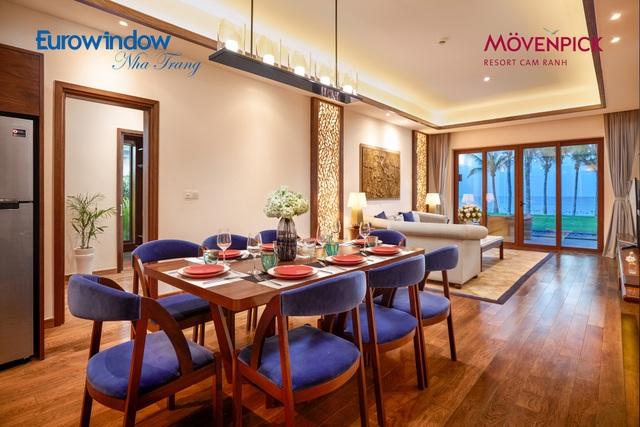 Mövenpick Resort Cam Ranh là quần thể khu nghỉ dưỡng hạng sang tại bán đảo Cam Ranh