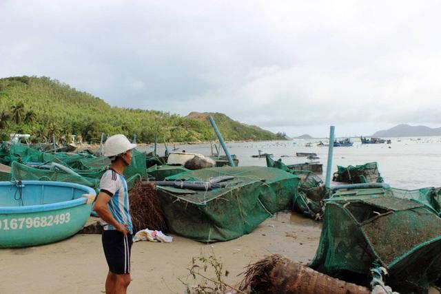 Cơn bão số 12 đã gây hậu quả nặng nề cho người dân Khánh Hòa, Phú Yên