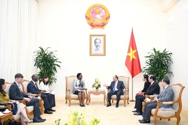 Thủ tướng đánh giá cao WB đã tích cực hỗ trợ Việt Nam thông qua các khoản vay ưu đãi, tư vấn chính sách