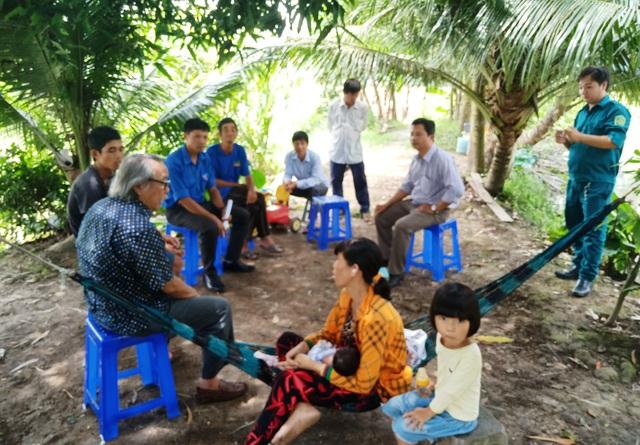Theo lãnh đạo địa phương cho biết, trên địa bàn phường Long Hưng còn nhiều họ khó khăn về nhà ở, bệnh tật...