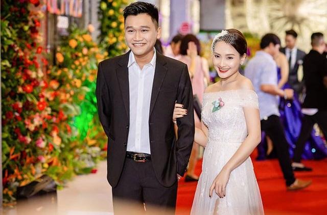 Bảo Thanh cùng Xuân Nghị tại giải VTV Awards 2018.