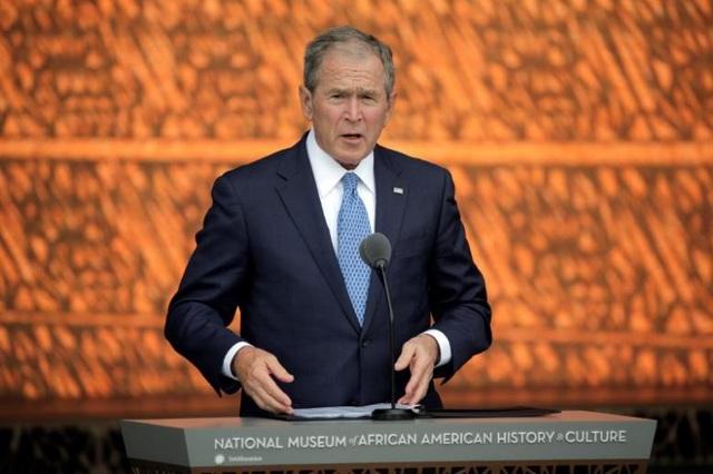 Cựu Tổng thống Mỹ George W. Bush (Ảnh: Reuters)