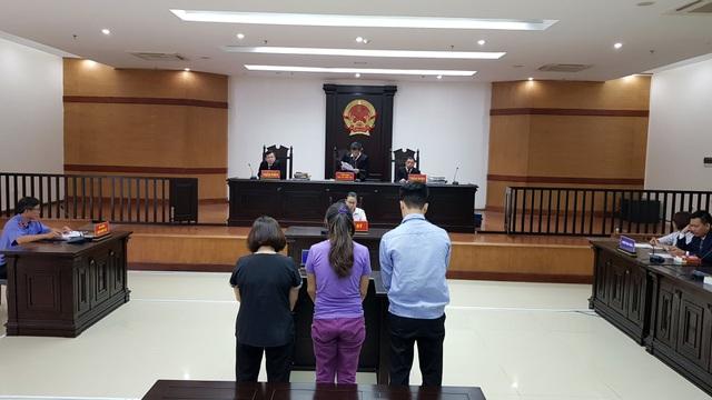 HĐXX tòa phúc thẩm tuyên y án sơ thẩm đối với 3 bị cáo.