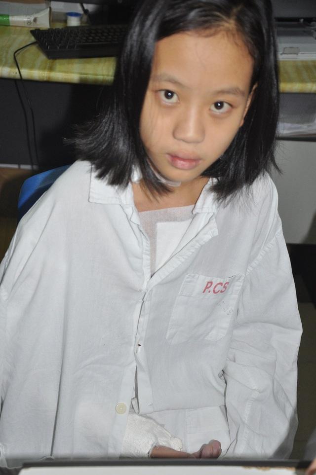 Tình hình sức khỏe của bé Nhia rất tốt sau 2 cuộc phẫu thuật.