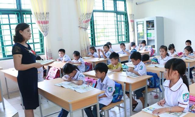 Một số giáo viên ở Hà Nam cho biết, chương trình này có nhiều ưu điểm, trong đó giúp học sinh viết đúng chính tả. (Ảnh: Đ. Cường).