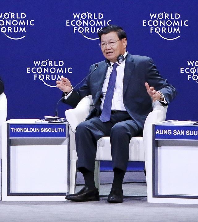 Thủ tướng Lào Thongloun Sisoulith tại WEF ASEAN