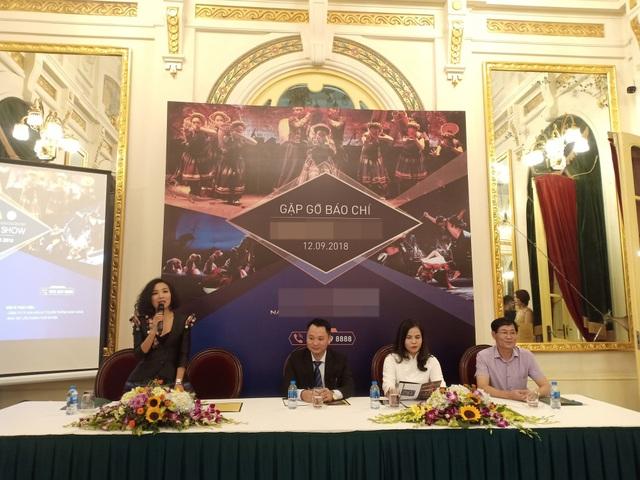Toàn cảnh buổi họp báo giới thiệu chương trình Nam An show. Ảnh: Tùng Long.