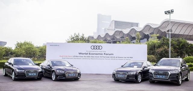 Audi Việt Nam đồng hành cùng Diễn đàn Kinh tế Thế giới về ASEAN (WEF) tại Hà Nội - 1