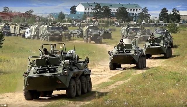 Cuộc tập trận kéo dài từ ngày 11-17/9 tại vùng Viễn Đông của Nga và các vùng biển lân cận Thái Bình Dương. (Ảnh: AP)