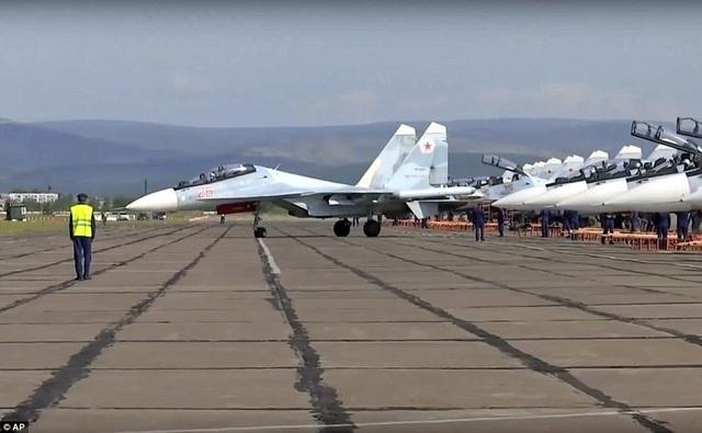 Đây là cuộc tập trận lớn nhất trong lịch sử hiện đại của Nga. (Ảnh: AP)