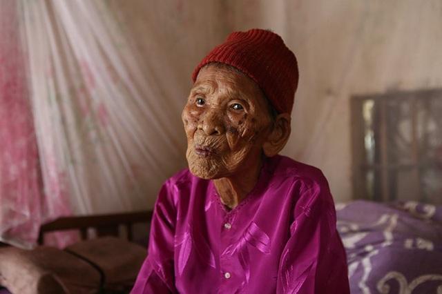 Cụ Lê Thị Thoại năm nay 109 tuổi.