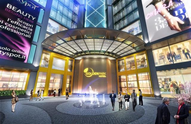 Cư dân Golden Park được hưởng lợi từ hệ thống tiện ích khách sạn hạng sang