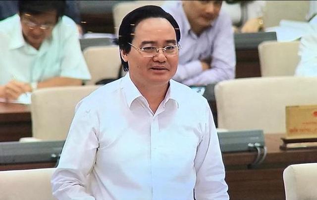 Bộ trưởng GD-ĐT Phùng Xuân Nhạ tại UB Thường vụ Quốc hội