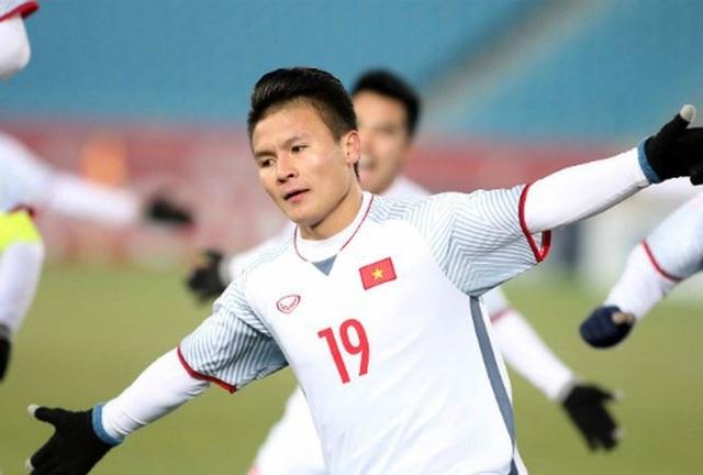 Quang Hải đang được nhiều đội bóng của Nhật Bản chèo kéo