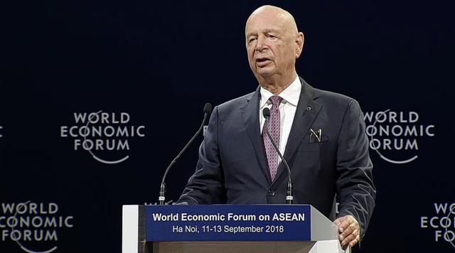 Chủ tịch WEF phát biểu khai mạc Diễn đàn WEF 2018